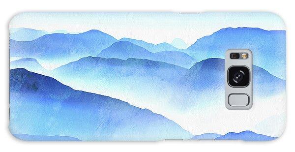 Galaxy Case - Blue Ridge Mountains by Edward Fielding