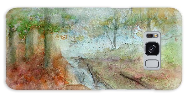 Blue Ridge Mountains Memories Galaxy Case by Doris Blessington
