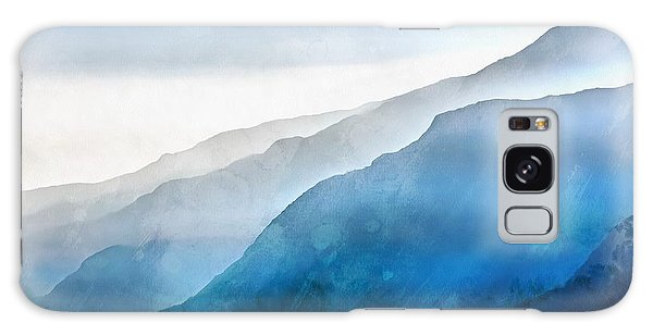 Galaxy Case featuring the painting Blue Ridge Mountians by Edward Fielding
