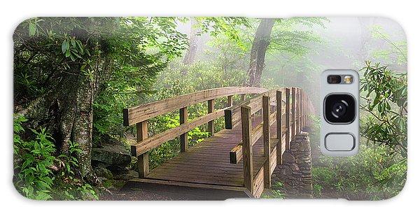 Blue Ridge Parkway Hiking Tanawha Trail Rough Ridge Galaxy Case