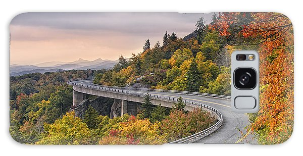 Lynn Cove Viaduct-blue Ridge Parkway  Galaxy Case