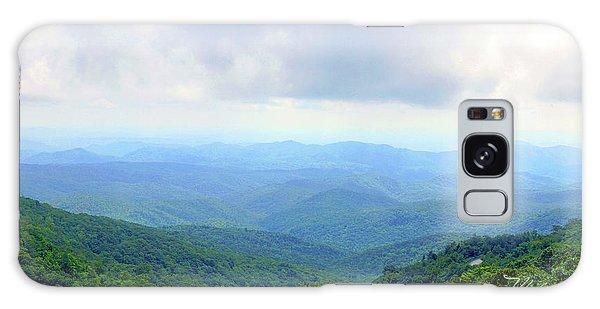 Blue Ridge Parkway Overlook Galaxy Case by Meta Gatschenberger