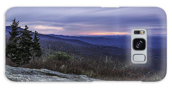 Blue Ridge Parkway Sunrise Galaxy Case