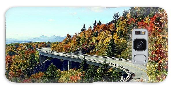Blue Ridge Parkway Viaduct Galaxy Case by Meta Gatschenberger