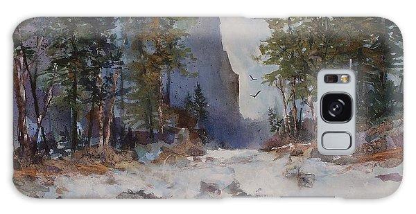 Blue Ridge Pass Galaxy Case by Helen Harris