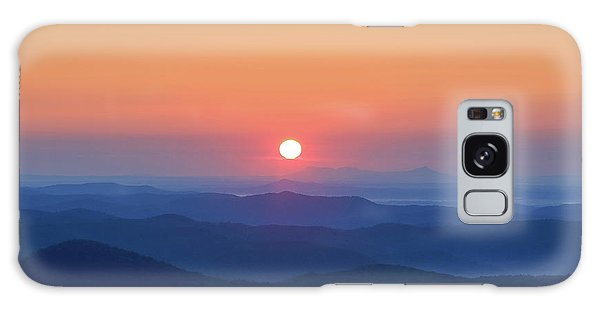Blue Ridge Sunrise Galaxy Case by Dale R Carlson