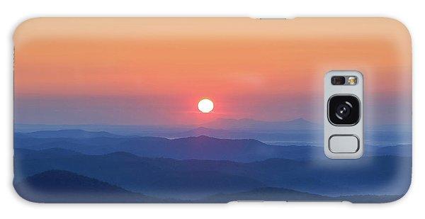Blue Ridge Sunrise Galaxy Case