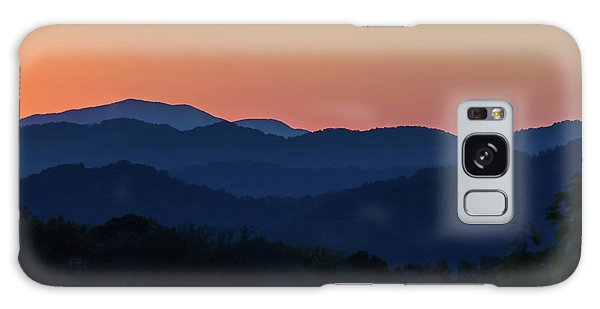 Blue Ridge Sunset Galaxy Case