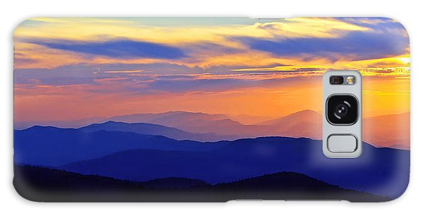 Blue Ridge Sunset, Virginia Galaxy Case