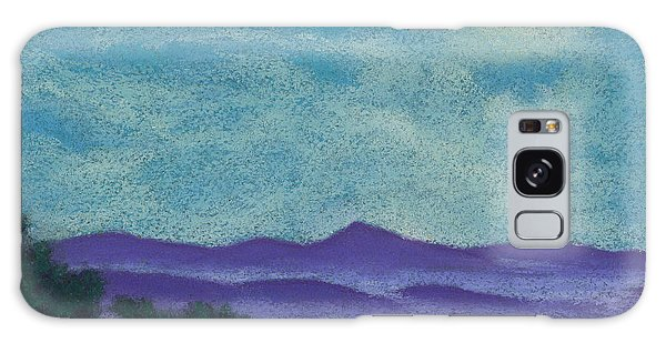Blue Ridges Mist 1 Galaxy Case