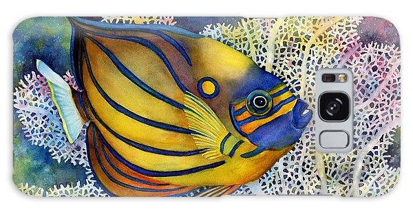Blue Ring Angelfish Galaxy Case