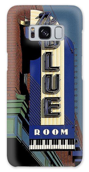 Blue Room Galaxy Case by Jim Mathis