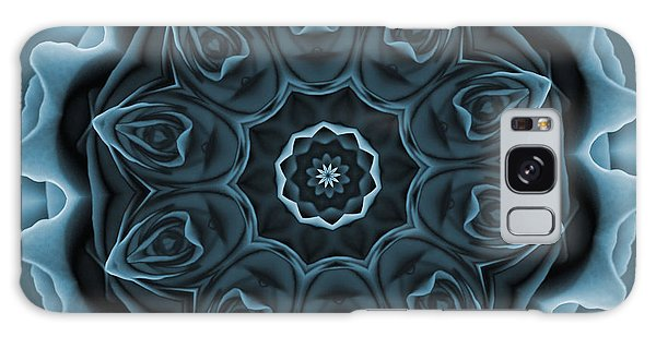 Blue Rose Mandala Galaxy Case