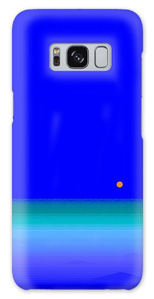 Blue Seas Galaxy Case