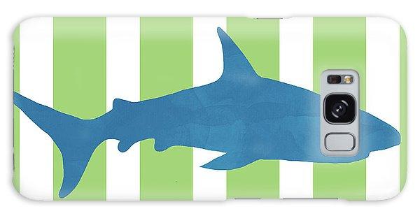 Hammerhead Shark Galaxy Case -  Blue Shark 2- Art By Linda Woods by Linda Woods
