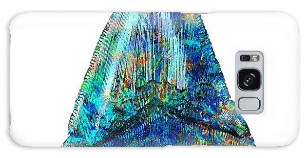 Scuba Diving Galaxy Case - Blue Shark Tooth Art By Sharon Cummings by Sharon Cummings