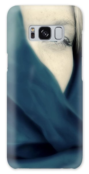 Blue Shawl #02953 Galaxy Case