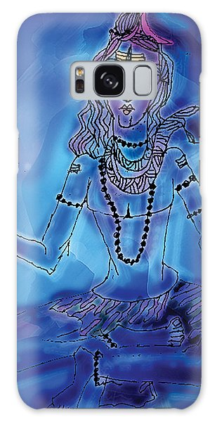 Blue Shiva  Galaxy Case