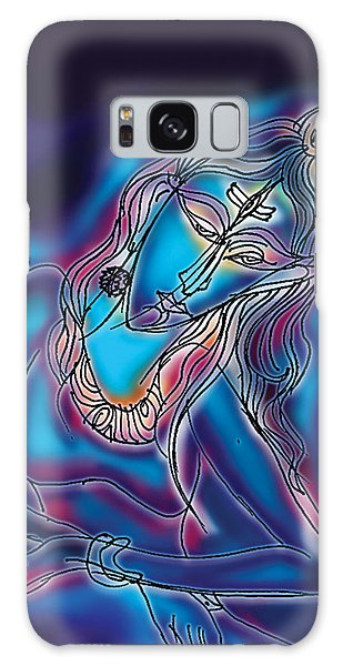Blue Shiva Light Galaxy Case