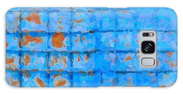 Blue Shutter And Rust Galaxy Case