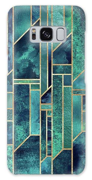 Green Galaxy Case - Blue Skies by Elisabeth Fredriksson