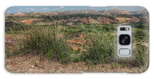Blue Skies Over Palo Duro Canyon Galaxy Case