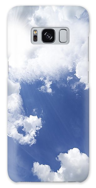 Cloudscape Galaxy Case - Blue Sky And Cloud by Setsiri Silapasuwanchai