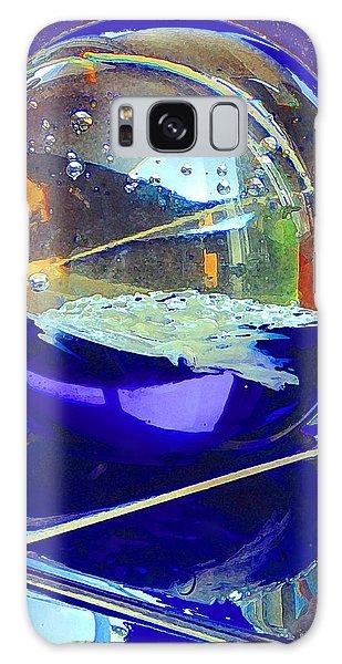 Blue Sphere Galaxy Case