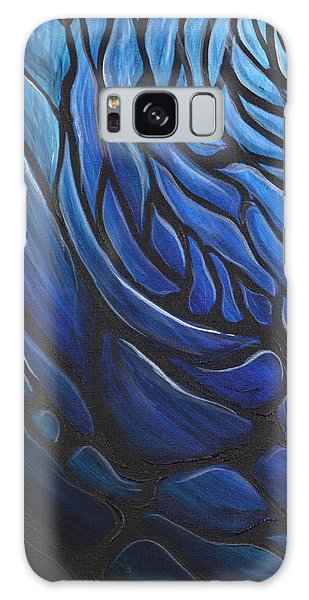 Blue Stained Glass Galaxy Case