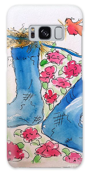 Blue Stockings Galaxy Case