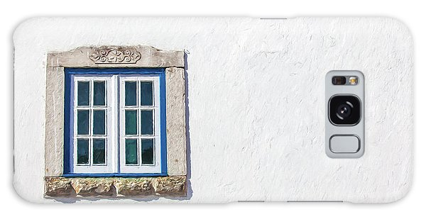 Blue Stone Window Of Obidos Galaxy Case