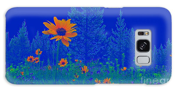 Blue Summer Galaxy Case by Janice Westerberg