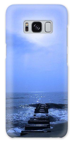 Blue Sunrise Galaxy Case