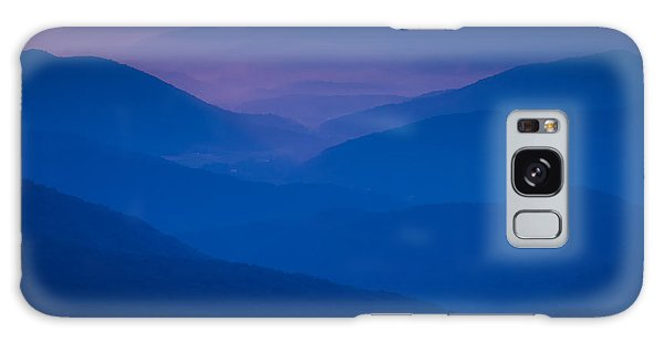 Blue Sunset Galaxy Case