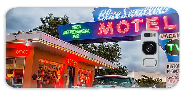 Blue Swallow Motel On Route 66 Galaxy Case