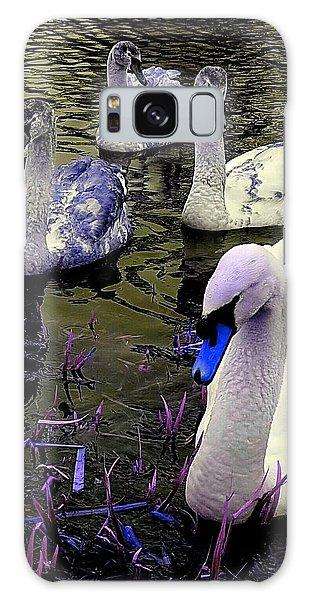 Blue Swan Galaxy Case