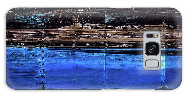 Blue Tanker Galaxy Case