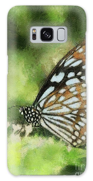 Brookside Gardens Galaxy Case - Blue Tiger by Lois Bryan