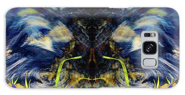 Blue Tigers Devil Galaxy Case