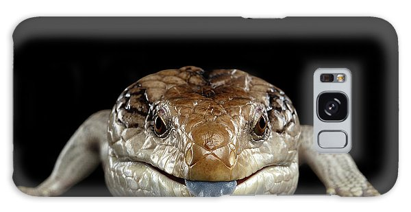 Blue-tongued Skink Galaxy Case by Sergey Taran