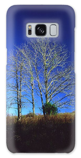 Blue Tree In Tennessee Galaxy Case