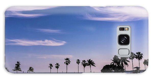 Blue Tropics Galaxy Case