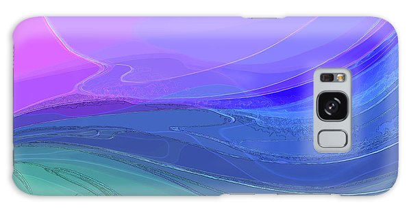 Blue Valley Galaxy Case