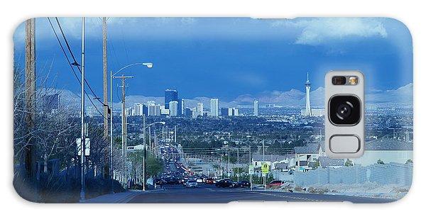 Blue Vegas Galaxy Case