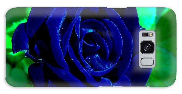Blue Velvet Rose Galaxy Case