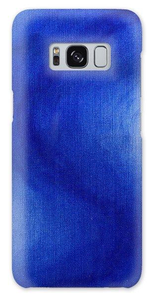Blue Vibration Galaxy Case