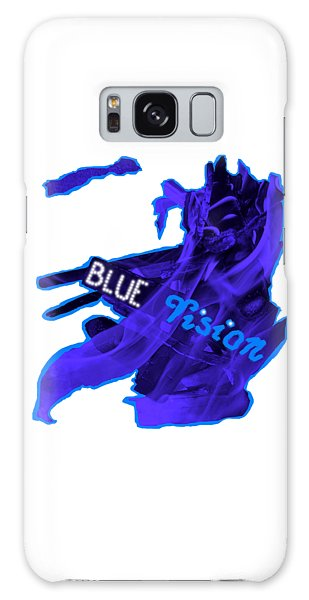 Galaxy S8 Case - Blue Vision by Orphelia Aristal