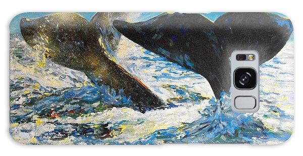 Blue Whales Galaxy Case