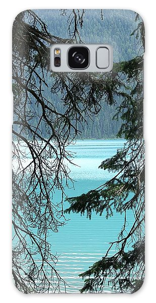 Galaxy Case featuring the photograph Blue Whisper by Al Fritz