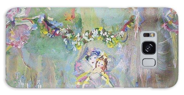 Bluebell Fairies Galaxy Case by Judith Desrosiers